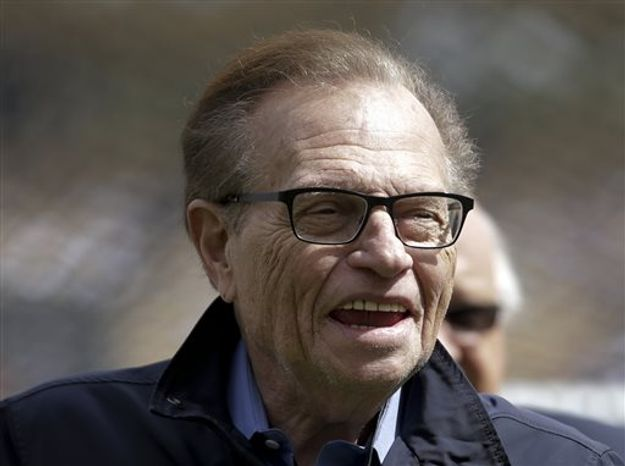 "Larry King will host a talk show, ""Politics with Larry King,"" beginning next month on the RT America network, a global, English-language channel based in Russia, the"