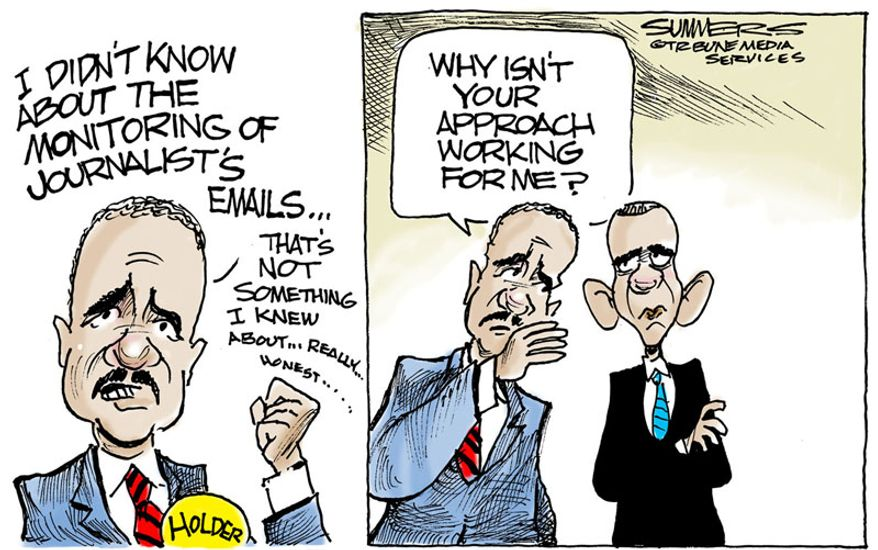 Illustration by Dana Summers of the Tribune Media Services)