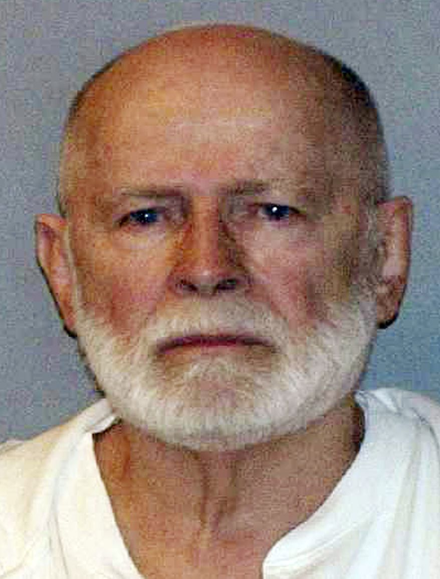"James ""Whitey"" Bulger, who was one of the FBI's Ten Most Wanted fugitives, is pictured in a booking photo on June 23, 2011. He was captured in Santa Monica, Calif., after 16 years on the run. (Associated Press/U.S. Marshals Service)"