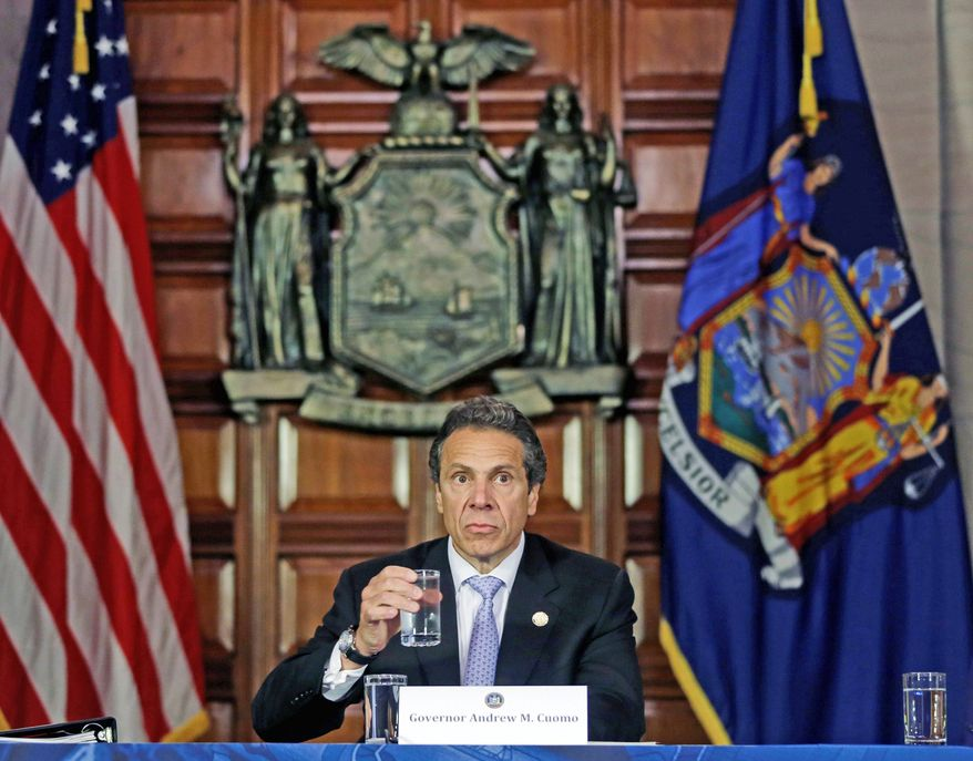 New York Gov. Andrew Cuomo on Tuesday introduced legislation to bring his state's abortion law more in line with federal standards. The abortion provision is part of a 10-point Women's Equality Act. (Associated Press)