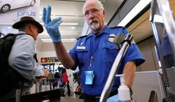 The Homeland Security Department's inspector general said the Transportation Security Administration has not established any sense that agents are exercising good judgment in deciding which travelers they screen. (Associated Press)