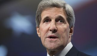 ** FILE ** Secretary of State John Kerry. (AP Photo/Manuel Balce Ceneta)