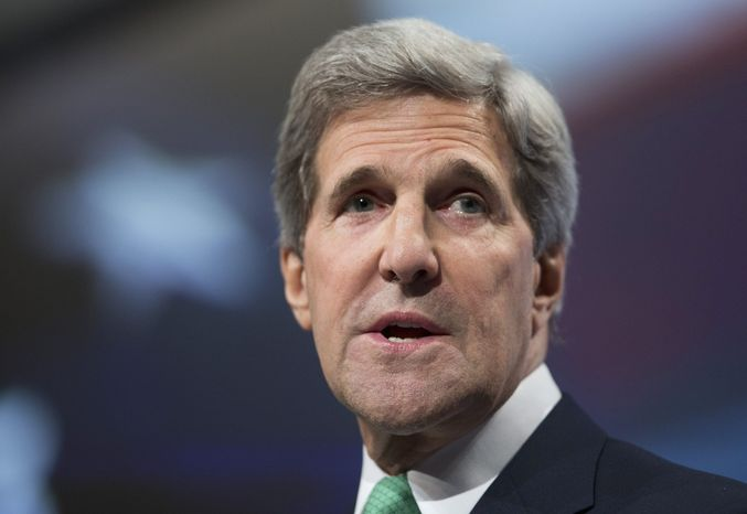 ** FILE ** Secretary of State John Kerry.