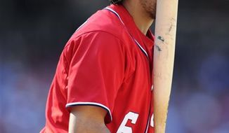 Nationals rookie second baseman Anthony Rendon during Saturday's 4-3 11-inning loss to the Minnesota Twins. Associated Press