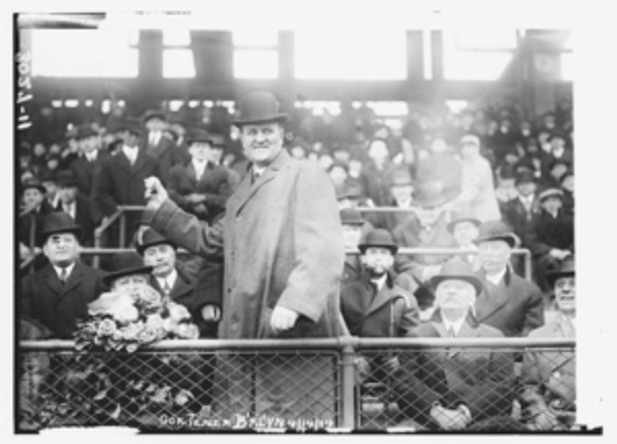 John Kinley Tener, a former professional baseball player who served in the House of Representatives and was governor of Pennsylvania, established the Congressional Baseball Game in 1909. (Library of Congress)