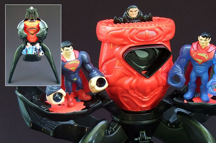 Mattel's Man of Steel: Quick Shots, Battle for Metropolis playset (Photo by Joseph Szadkowski / The Washington Times)