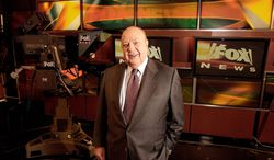 Fox News Chairman Roger Ailes has been named the most influential person in political news by Mediaite.com (Associated Press)