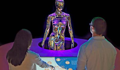 Genome: Unlocking Life's Code exhibit at the Smithsonian National Museum of Natural History.