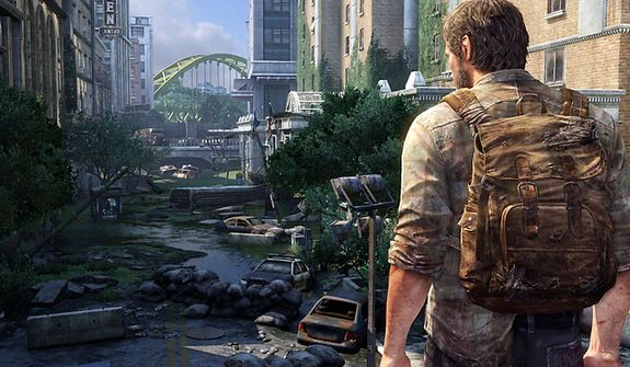 A pandemic helps destroy the United States in the video game The Last of Us.