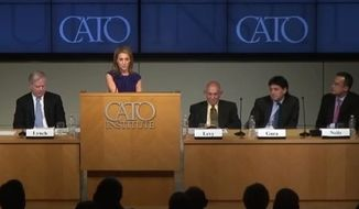 The Washington Times' Emily Miller speaks at Cato Institute. June 4, 2013
