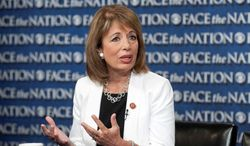 Rep. Jackie Speier, California Democrat, supports the Marketplace Fairness Act, which would require online merchants to collect sales tax from customers. The legislation is nearing a House showdown. (Associated Press)