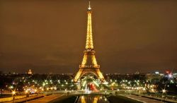 The Eiffel Tower in Paris (Associated Press)