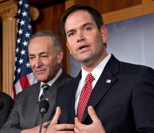 The 68-32 vote in favor of the immigration reform bill was a milestone for the Senate and for the immigration debate, but it was even more important for Sen. Mario Rubio, a first-term Florida Republi