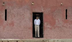 """President Obama symbolic visit last week to the """"Door of No Return,"""" through which African slaves are said to have passed as they boarded ships for the Americas, most likely was a rubbish chute on Senegal's Goree Island, Britain's Telegraph newspaper reported."""