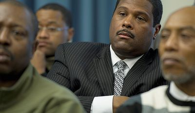 Emmanuel S. Bailey, head of Veterans Services Corp., has hired superlawyer Billy Martin to protect him from being smeared by his relationship with Michael A. Brown, who pleaded guilty June 10 in federal court to accepting $55,000 in bribes. (The Washington Times)