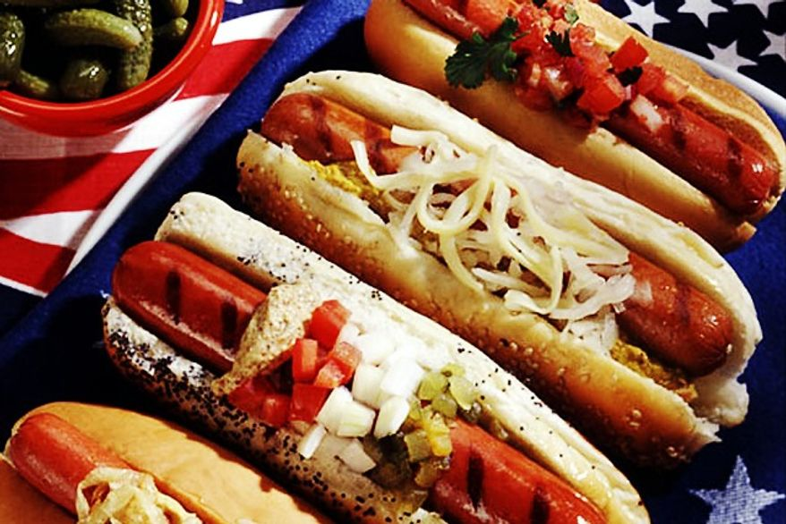 About 7 billion hot dogs will be devoured between Memorial Day and Labor Day according to the National Hot Dog & Sausage Council. (SHNS photo courtesy the National Hot Dog & Sausage Council)