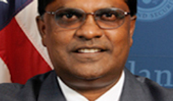 (Screen shot of Deputy Inspector General Charles K. Edwards from http://www.oig.dhs.gov)