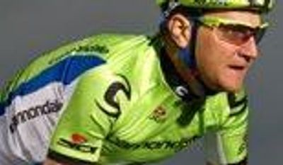 **FILE** American Ted King of Cannondale Pro Cycling was cut from the Tour de France by race officials after Stage 4 when he missed a time cutoff by 7 seconds thanks to an injury suffered in the first stage of the race. (IAmTedKing.com)