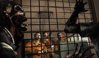 Vince and his pals find out about the zombie apocalypse in Telltale Games' The Walking Dead: 400 Days.