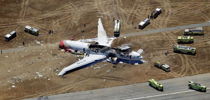 Pilot Lee Gang-guk reportedly tried to abort the landing of Asiana Flight 214 at San Francisco International after realizing too late that the 777 was flying too slow and too low. (Associated Press)
