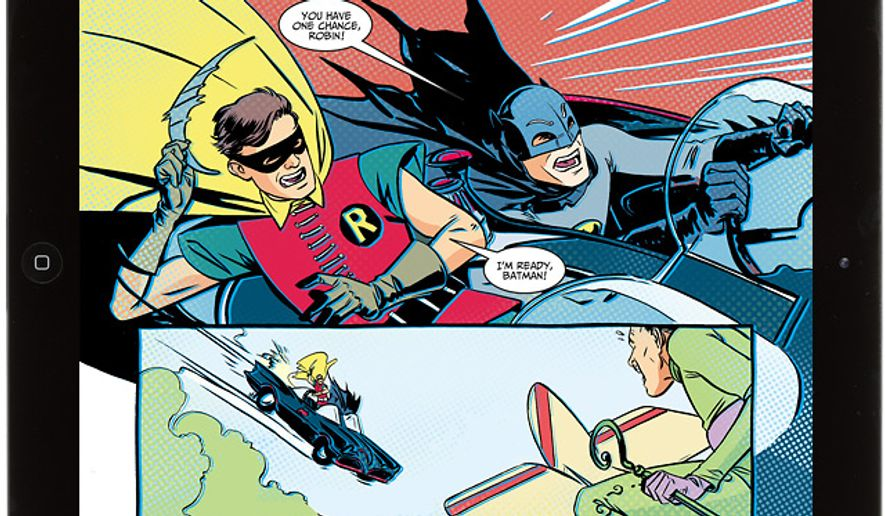 Batman and Robin make a campy, nostalgic return in DC Comics' iPad friendly comic book series Batman '66.