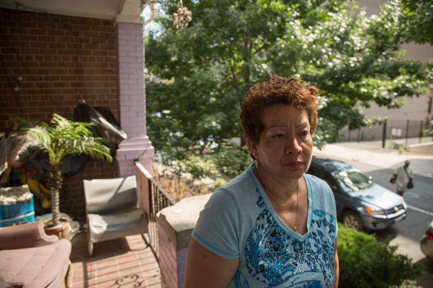 Nelly Moreira's car was taken by D.C. police in March 2012 after her son was pulled over while possessing an unregistered gun. Although he pleaded guilty to a misdemeanor charge, the car wasn't returned because of a process called civil asset forfeiture. (Andrew S. Geraci/The Washington Times)