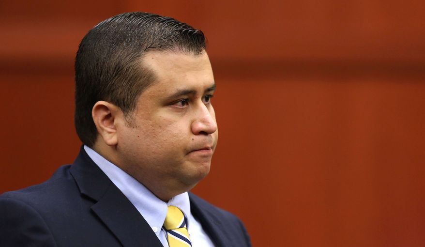 ** FILE ** In this July 8, 2013, file photo, George Zimmerman sits in the courtroom during his trial in Seminole Circuit Court, in Sanford, Fla. (AP Photo /Orlando Sentinel, Joe Burbank, Pool, File)