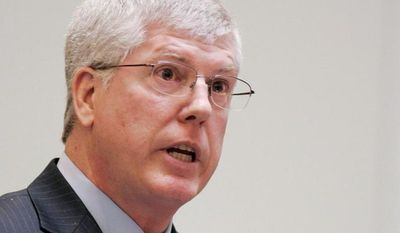 ** FILE ** Mathew D. Staver, dean of the Liberty University School of Law, is also founder and chairman of the Liberty Council, representing Liberty University and two other challengers in their suit against the Affordable Care Act. (Associated Press)
