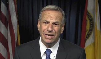 ** FILE ** San Diego Mayor Bob Filner apologizes for his behavior in this frame from a video produced by the city on Thursday, July 11, 2013. (Associated Press)