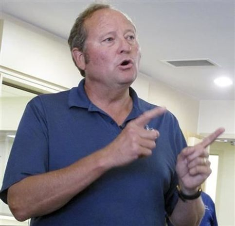 ** FILE **  Former Montana Gov. Brian Schweitzer, shown here in Helena, Mont., August, 2012, says he will not run for Montana's open U.S. Senate seat in 2014. (AP Photo/Matt Gouras, File)