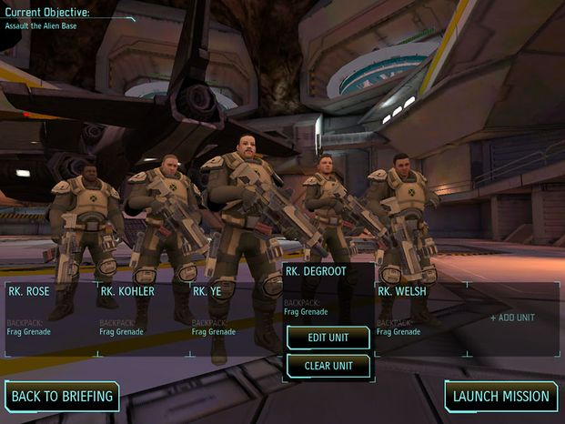 Customize soldiers and send them into battle against nasty aliens in the iPad game XCOM: Enemy Unknown.