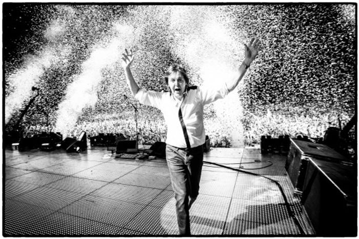 "Paul McCartney is pictured during his ""Out There"" tour. (MPL Communications Ltd./MJ Kim)"