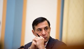 "Rep. Darrell E. Issa ""remains very supportive"" of budget autonomy for the District, the California Republican's spokesman says. Voters approved the charter amendment in April but must wait for a congressional deadline to pass before it can take effect. (Andrew Harnik/The Washington Time)"