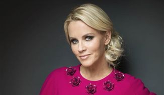 "Actress and former Playboy playmate Jenny McCarthy was named Monday to join the panel of the ABC weekday talk show ""The View."" Co-host Barbara Walters made the widely expected announcement on the air. (Victoria Will/Invision/AP)"