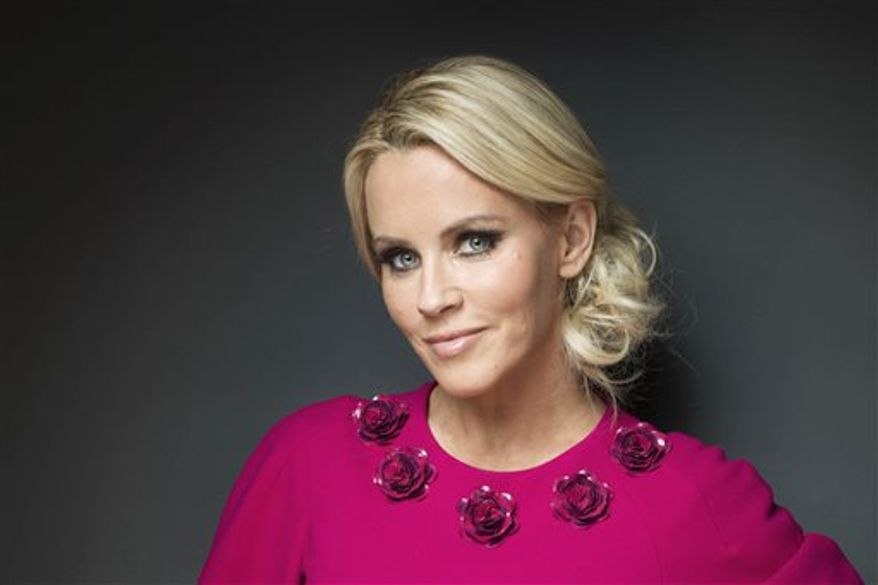 """Actress and former Playboy playmate Jenny McCarthy was named Monday to join the panel of the ABC weekday talk show """"The View."""" Co-host Barbara Walters made the widely expected announcement on the air. (Victoria Will/Invision/AP)"""
