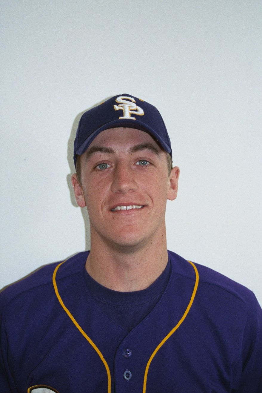 **FILE** Washington Nationals starter Jordan Zimmermann shown during his time at Wisconsin-Stevens Point (Wisconsin-Stevens Point Athletics)