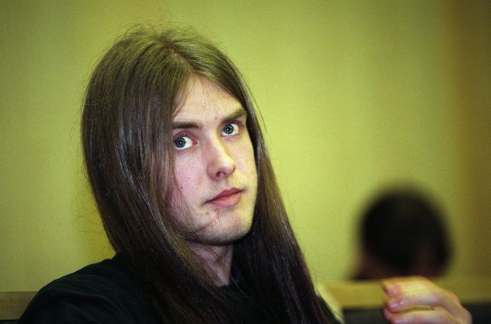 "Norwegian singer-activist Varg Vikernes, pictured in 1994, was arrested in France on Tuesday, July 16, 2013, on suspicion of planning ""a"