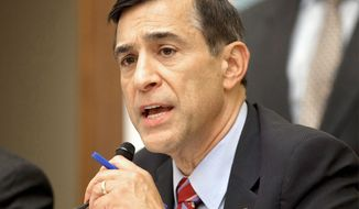 ** FILE ** Rep. Darrell E. Issa, chairman of the House Oversight and Government Reform Committee. (Associated Press)