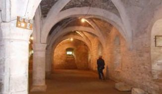 Cellar of Chateau de Germolles (Corinna Lothar)