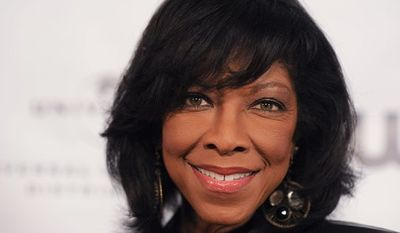 Natalie Cole arrives at the NARM Music Biz 2013 Dinner Party at the Hyatt Regency Century City Plaza Hotel on Thursday, May 9, 2013 in Century City, Calif. (Photo by Richard Shotwell/Invision/AP)