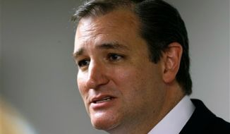 Sen. Ted Cruz, Texas Republican (Associated Press)