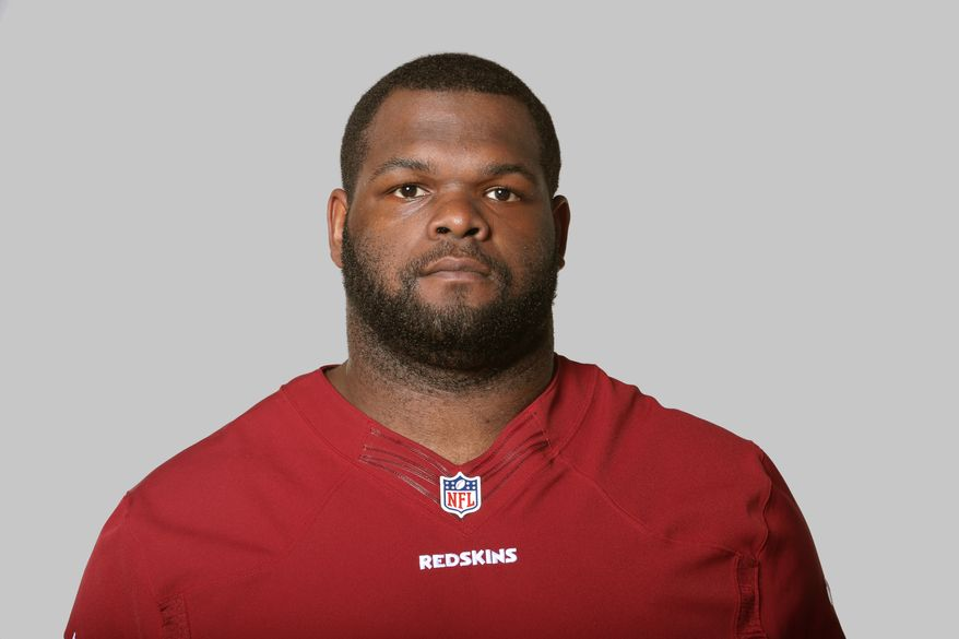 This is a 2013 photo of Ron Brace of the Washington Redskins NFL football team. This image reflects the Washington Redskins active roster as of Monday, June 10, 2013 when this image was taken. (AP Photo)