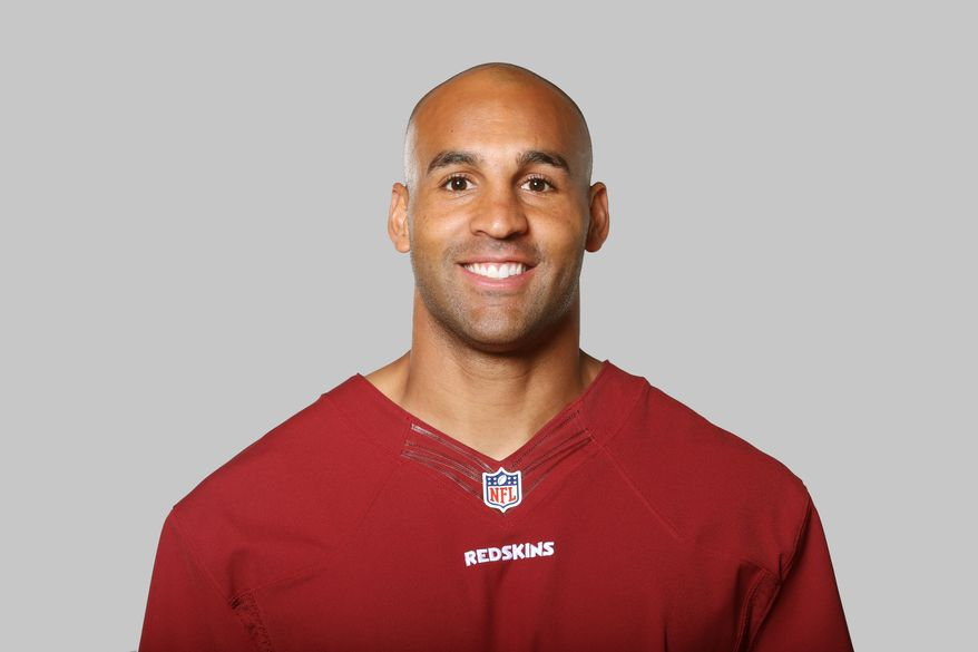 This is a 2013 photo of Bryan Kehl of the Washington Redskins NFL football team. This image reflects the Washington Redskins active roster as of Monday, June 10, 2013 when this image was taken. (AP Photo)