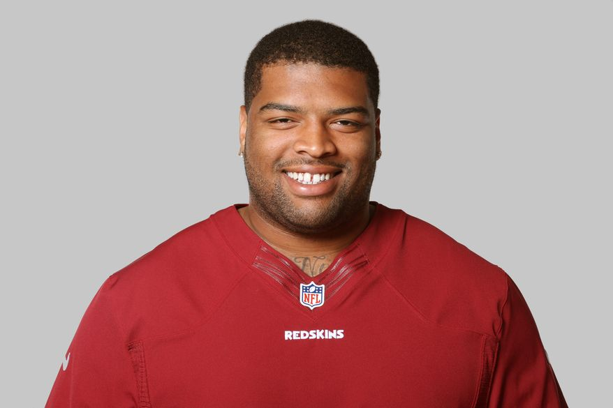 This is a 2013 photo of Trent Williams of the Washington Redskins NFL football team. This image reflects the Washington Redskins active roster as of Monday, June 10, 2013 when this image was taken. (AP Photo)
