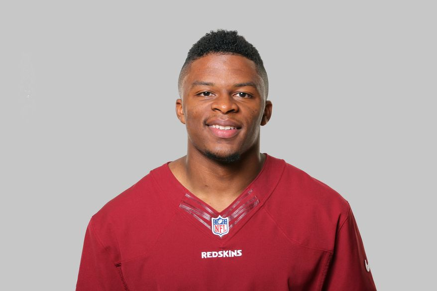 This is a 2013 photo of Chris Thompson of the Washington Redskins NFL football team. This image reflects the Washington Redskins active roster as of Thursday, May 2, 2013 when this image was taken. (AP Photo)