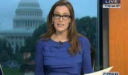 """""""I see this as an opportunity to be part of a strong news presence  serious news and serious storytelling,"""" says Libby Casey about her new gig at Al Jazeera America."""