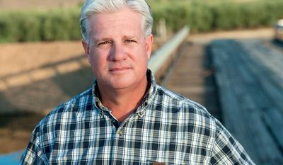 "Fresno cherry farmer and cattle rancher Andy Vidak, who is fluent in Spanish, said he captured the state Senate seat in last week's closely watched runoff vote by connecting with Hispanic voters with a ""common-sense"" approach that focused on job creation, affordable energy and opposition to big government. (Screen grab from VidakforSenate.com)"