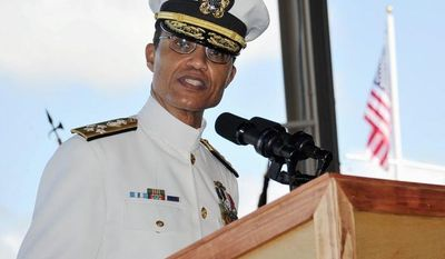 Adm. Cecil E.D. Haney, nominated to be commander of U.S. Strategic Command, says he opposes further cuts in the U.S. strategic arsenal, as proposed by President Obama, unless they are carried out with Russia. (Associated Press)