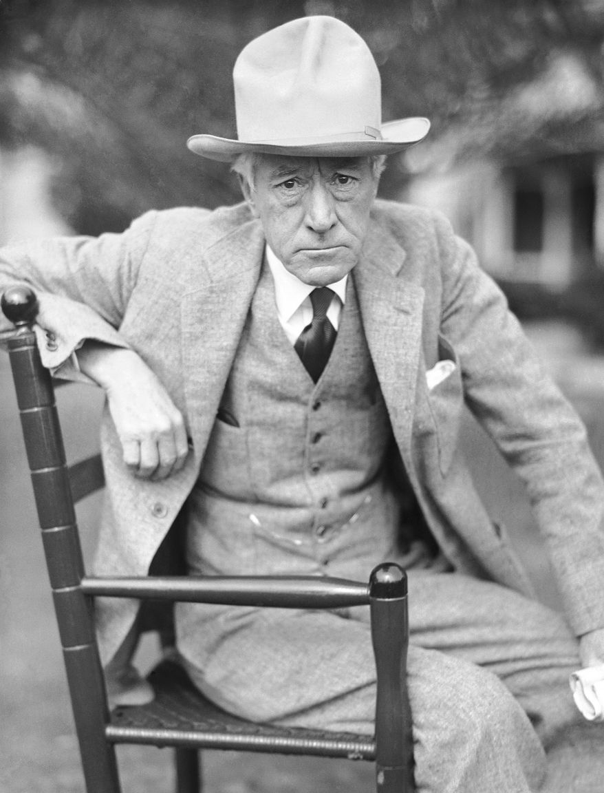 Baseball Commissioner Kenesaw Mountain Landis is shown, date unknown, in Belleair, Fla. (AP Photo)