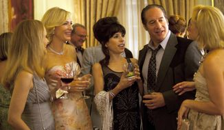 "From second left, Cate Blanchett, Sally Hawkins and Andrew Dice Clay in a scene from the Woody Allen film, ""Blue Jasmine."" (AP Photo/Sony Pictures Classics)"